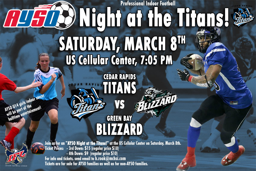 AYSO Night at the Titans