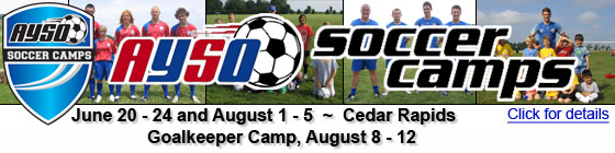 AYSO Soccer Camp